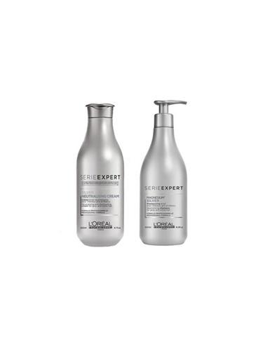 L'oreal Professionnel Loreal Magnesium Silver Şampuan 500 Ml+Silver Neutralising Gümüş Krem 200 Ml Renksiz